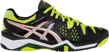 Asics Gel Resolution 6 - Onyx/Silver/Flash Yellow (E500Y9993)