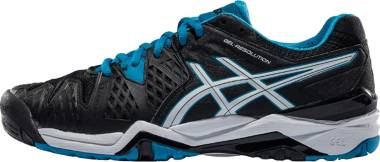 Asics Gel Resolution 6 - Nero Black Blue Jewel White (E500Y9043)