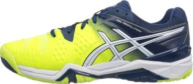 Asics Gel Resolution 6 - Safety Yellow White 0701 (E500Y0701)
