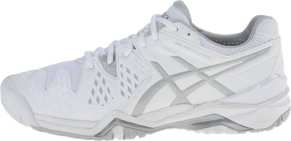 Asics Gel Resolution 6 - White/Silver (E550Y0193)
