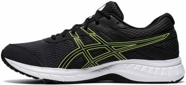 Asics Gel Contend 6 - Graphite Grey Lime Zest (1011A666022)