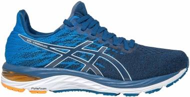 Asics Gel Cumulus 21 Knit - Mako Blue/White (1011A809400)