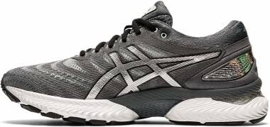 Asics Gel Nimbus 22 Platinum - Carrier Grey / Pure Silver (1011A779020)