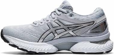 Asics Gel Nimbus 22 Platinum - Piedmont Grey/Pure Silver (1012A664020)