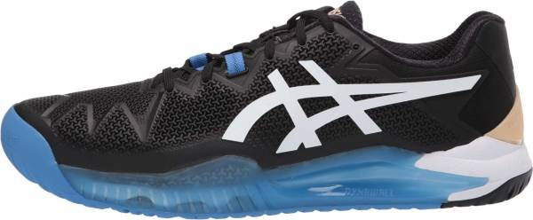 Asics Gel Resolution 8 - Black White (1041A079001)