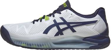 Asics Gel Resolution 8 - White (1041A079102)