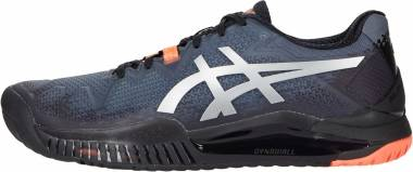 Asics Gel Resolution 8 - Black/Sunrise Red (1042A122010)