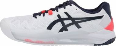 Asics Gel Resolution 8 - White Peacoat (1042A072103)