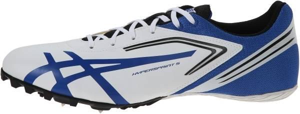 Asics Hypersprint 5 - White/Black/Blue (G306Y0140)