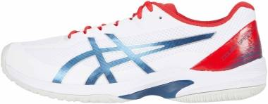 Asics Court Speed FF - White / Mako Blue (1041A092105)