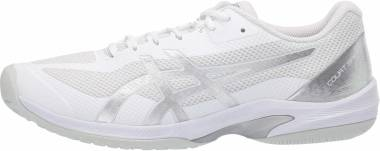 Asics Court Speed FF - White/Pure Silver (1041A092102)