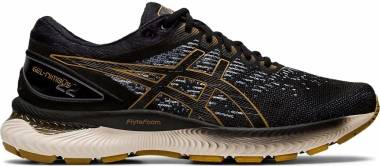 Asics Gel Nimbus 22 Knit - BLACK/BLACK (1011A794001)