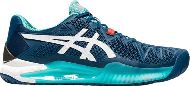 Asics Gel Resolution 8 Clay - Mako Blue/White (1041A076401)