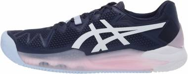 Asics Gel Resolution 8 Clay - Peacoat White