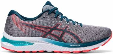 Asics Gel Cumulus 22 - Piedmont Grey / Magnetic Blue (1011A862023)