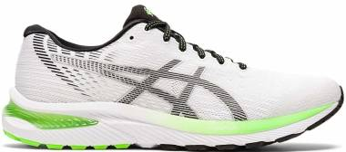Asics Gel Cumulus 22 - White/Black (1011A862100)