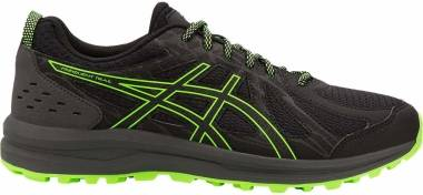 Asics Frequent Trail - Black/Green Gecko (1011A585001)