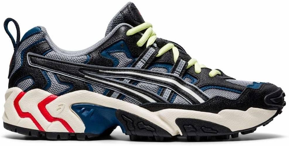 Asics Gel Nandi sneakers in grey black | RunRepeat