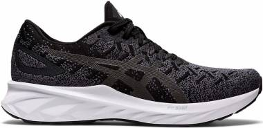 Asics Dynablast - BLACK/GRAPHITE GREY (1011A819001)