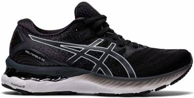 Asics Gel Nimbus 23 - Black/White (1012A885001)
