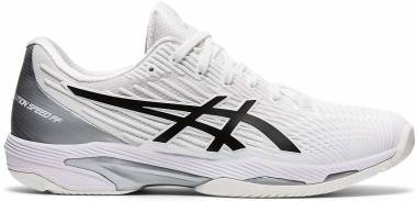Asics Solution Speed FF 2 - White / Black (1041A182100)