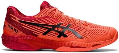 Asics Solution Speed FF 2 - Sunrise Red/Eclipse Black (1041A278701)