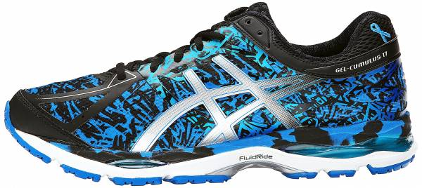 Asics Gel Cumulus 17 men electric blue/silver/blue ribbon