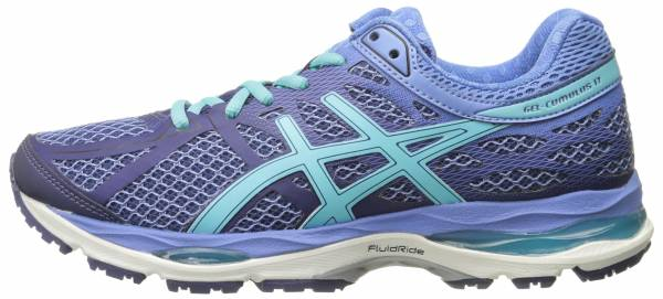 Asics Gel Cumulus 17 woman blu (deep cobalt/turquoise/dutch blue 5040)