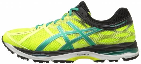 Asics Gel Cumulus 17 men flash yellow/pine/black