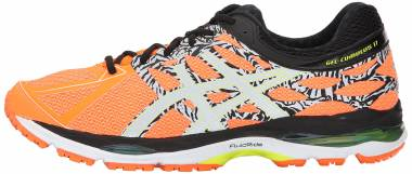 Asics Gel Cumulus 17 - Hot Orange/Flash Yellow/Black
