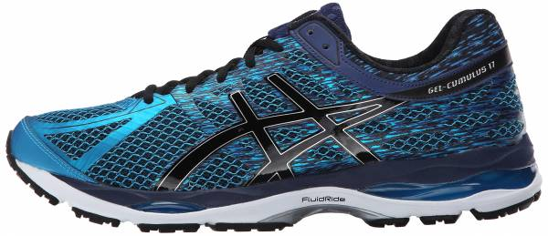 Asics Gel Cumulus 17 men blue (island blue/black/indigo blue 4090)