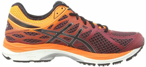Asics Gel Cumulus 17 men rouge (deep ruby/onyx/hot orange 2699)