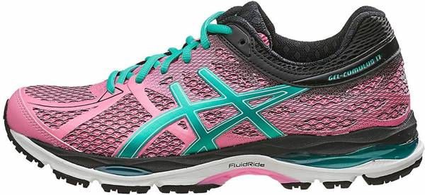 Asics Gel Cumulus 17 woman purple (flamingo/peacock green/black 1988)