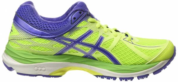 Asics Gel Cumulus 17 woman yellow (flash yellow/acai/jasmin green 0733)