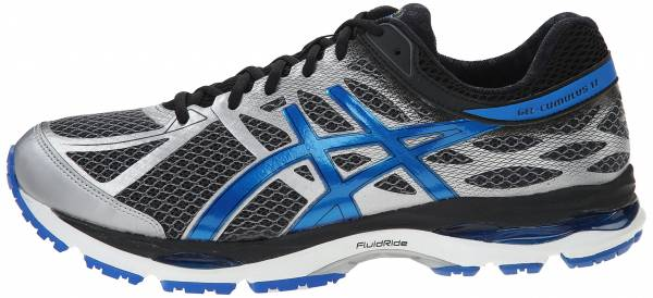 Asics Gel Cumulus 17 men mix grey/electric blue/black