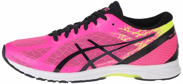 Asics Gel DS Racer 11 woman hot pink/black/flash yellow