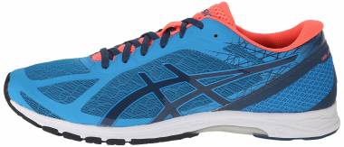 Asics Gel DS Racer 11 Methyl Blue/Ink/Flash Coral Men