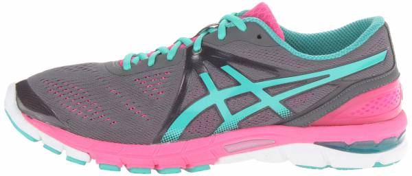 Asics Gel Excel33 3 woman charcoal/emerald/hotpink