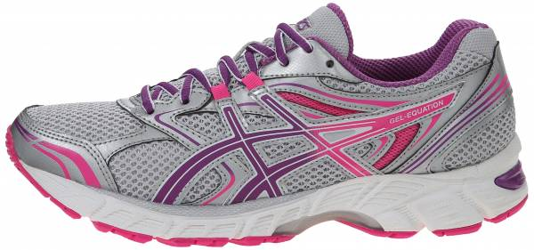 Asics Gel Equation 8 woman silver/grape/hot pink