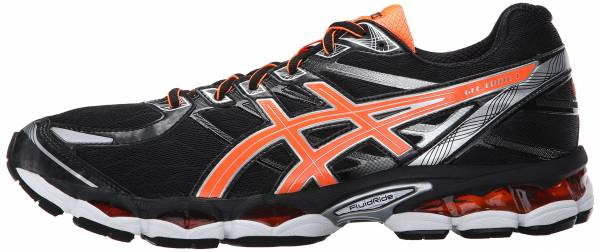 Asics Gel Evate 3 Black/Hot Orange/Silver