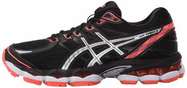 Asics Gel Evate 3 woman black/silver/flash coral