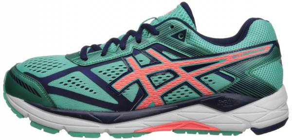 Asics Gel Foundation 12 woman aqua mint/flash coral/indigo blue