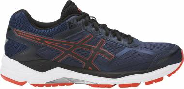 Asics Gel Foundation 12 - Bleu Insignia Blue Black Cherry Tom (T5H0N5090)