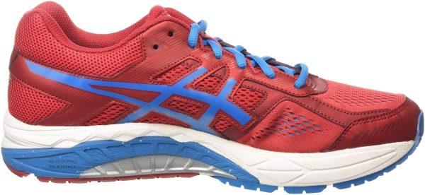 Asics Gel Foundation 12 men red (racing red/methyl blue/black 2342)