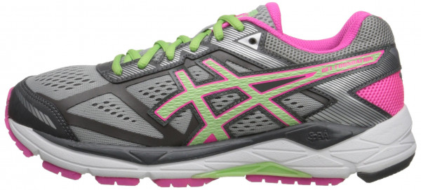 Asics Gel Foundation 12 woman silver/pistachio/pink glow