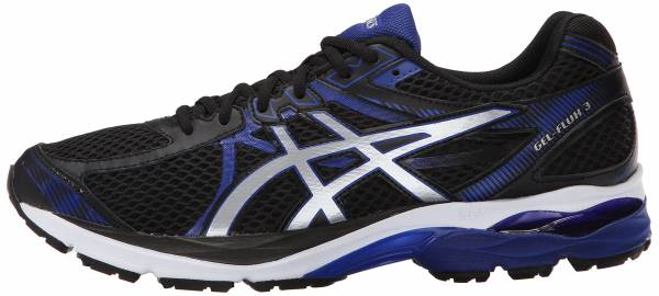 Asics Gel Flux 3 Black/Silver/Asics Blue