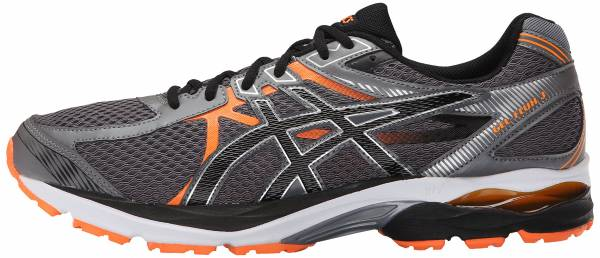 Asics Gel Flux 3 men carbon / black / hot orange