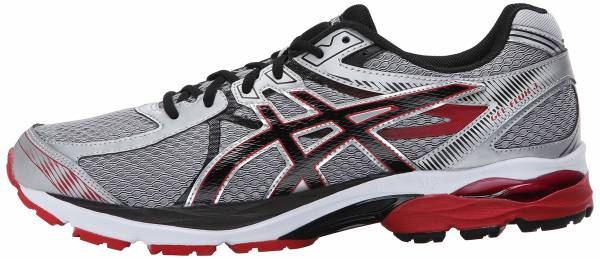 Asics Gel Flux 3 men silver/onyx/racing red