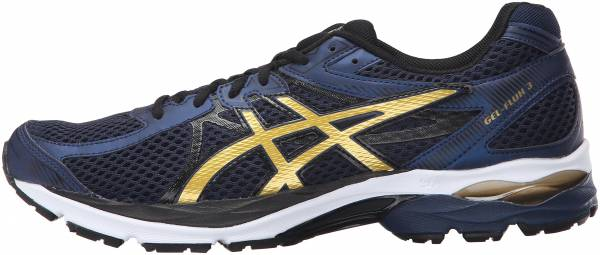 Asics Gel Flux 3 men dark navyrich goldblack
