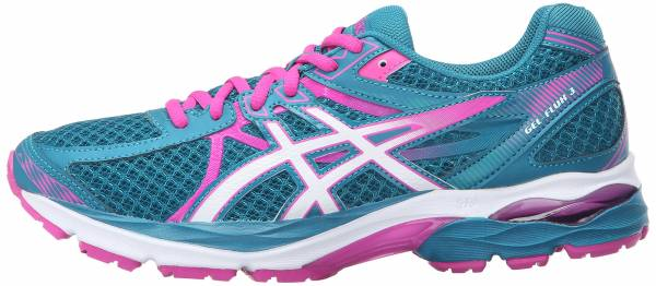 Asics Gel Flux 3 woman ocean depth/white/pink glow